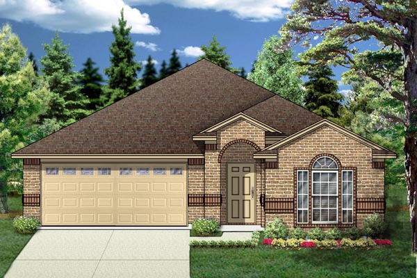 Traditional House Plan 88666 Elevation