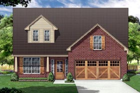 Country House Plan 88674 Elevation