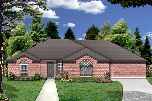 Traditional House Plan 88676 Elevation
