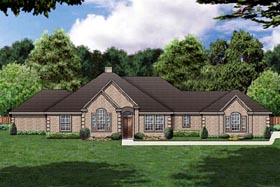 Traditional House Plan 88680 Elevation