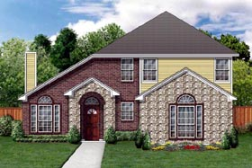 Traditional House Plan 88681 Elevation