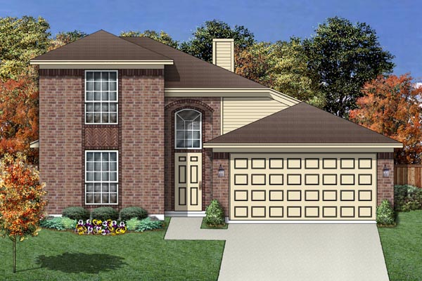 Traditional House Plan 88682 Elevation