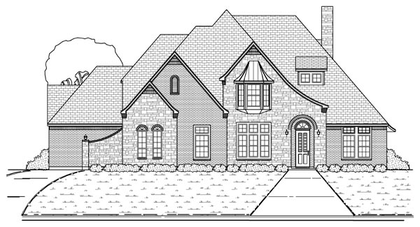 Victorian House Plan 88693 Elevation