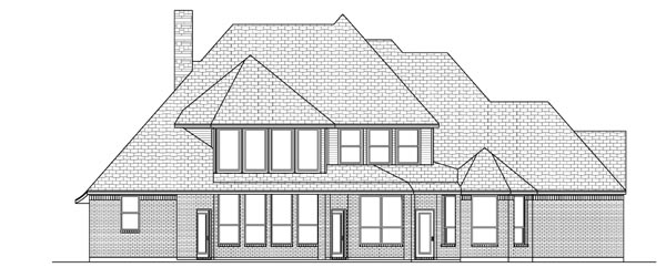 Victorian House Plan 88693 Rear Elevation