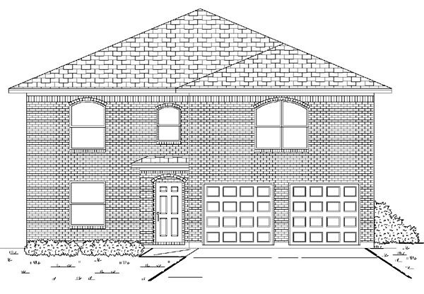 Traditional House Plan 88699 Elevation