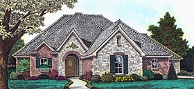 Country European French Country House Plan 89408 Elevation