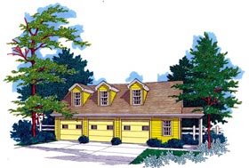 Garages with Bonus Room