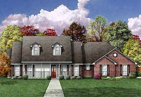 Country House Plan 89802 Elevation