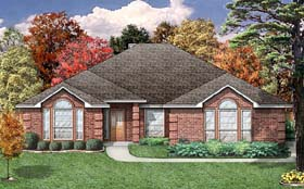 European Traditional House Plan 89806 Elevation