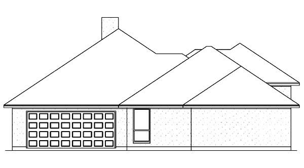 Florida Mediterranean House Plan 89840 Rear Elevation