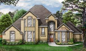 European Victorian House Plan 89844 Elevation