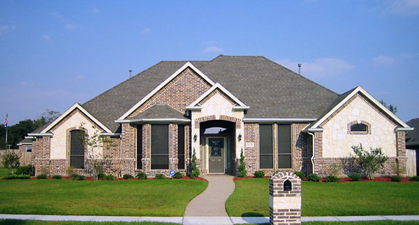 European House Plan 89848 with 4 Beds, 3 Baths, 3 Car Garage Elevation