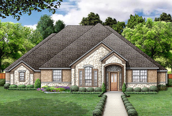 European , Victorian House Plan 89851 with 4 Beds, 3 Baths, 2 Car Garage Elevation