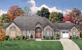 European House Plan 89856 Elevation