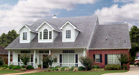 Country House Plan 89865 with 5 Beds, 4 Baths, 2 Car Garage Elevation