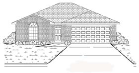 Traditional House Plan 89873 Elevation