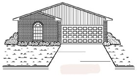 Traditional House Plan 89875 Elevation