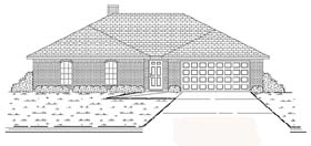 Traditional House Plan 89876 Elevation