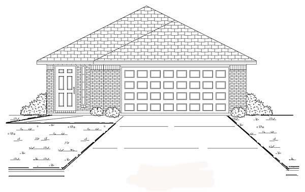 Traditional House Plan 89878 Elevation