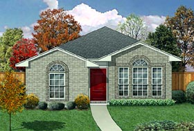 Traditional House Plan 89881 Elevation