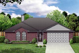 Traditional House Plan 89884 Elevation