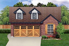 Traditional House Plan 89885 Elevation