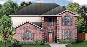 Traditional House Plan 89892 Elevation