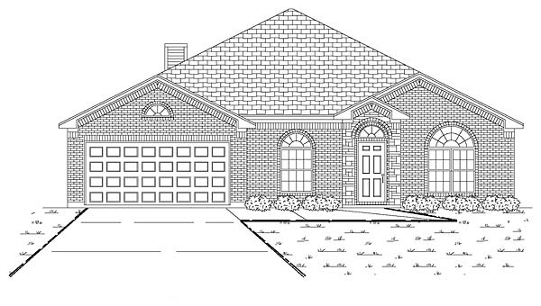 Traditional House Plan 89894 Elevation