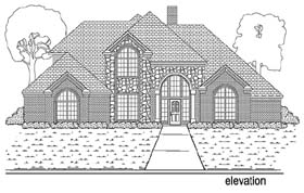 Plan Number 89899 - 3250 Square Feet