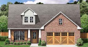 Country Traditional House Plan 89901 Elevation