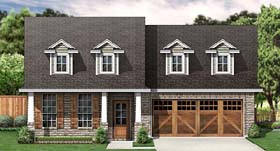 Cape Cod Country Traditional House Plan 89902 Elevation