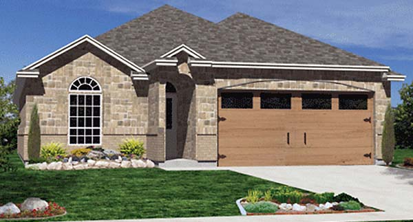 Traditional House Plan 89904 Elevation