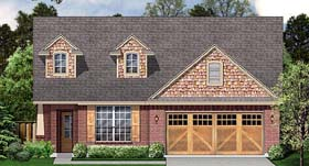 Country Craftsman House Plan 89905 Elevation