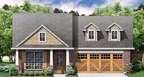 Country House Plan 89906 Elevation