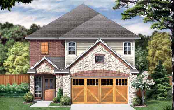 Traditional House Plan 89908 Elevation