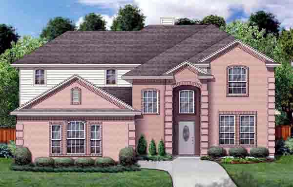Traditional House Plan 89909 Elevation
