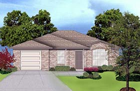 Traditional House Plan 89912 Elevation