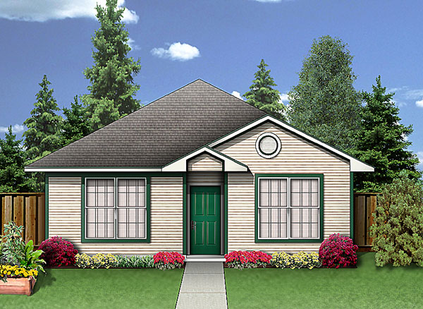 Traditional House Plan 89913 Elevation