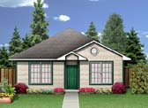 Plan Number 89913 - 1272 Square Feet