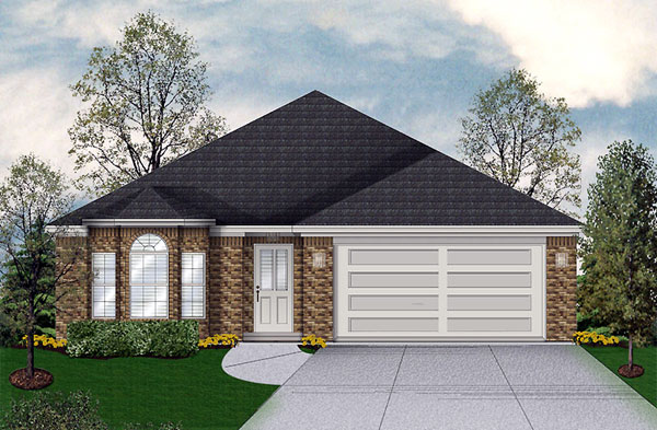 Traditional House Plan 89917 Elevation