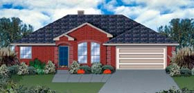Traditional House Plan 89919 Elevation