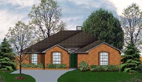 Traditional House Plan 89920 Elevation