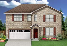 Traditional House Plan 89925 Elevation