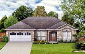 Traditional House Plan 89926 Elevation