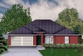 Traditional House Plan 89929 Elevation