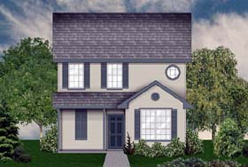 House Plan 89930 | Country Style Plan with 1697 Sq Ft, 4 Bathrooms Elevation