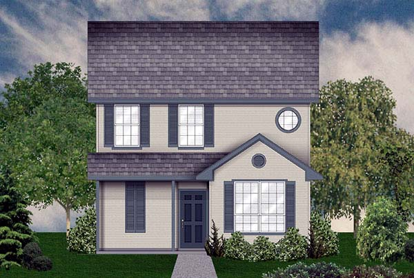 Country House Plan 89930 Elevation