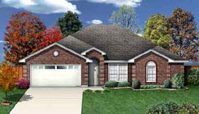Traditional , Country House Plan 89931 with 3 Beds, 2 Baths, 2 Car Garage Elevation