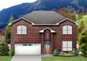 Traditional House Plan 89932 Elevation
