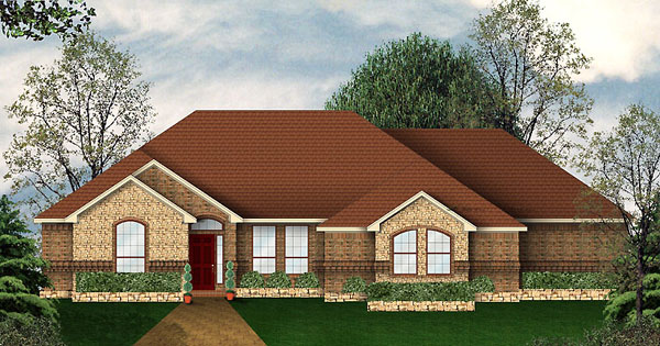 Traditional House Plan 89940 Elevation